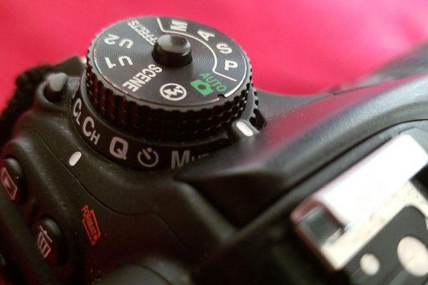 Nikon mode dial by Brithikesontario