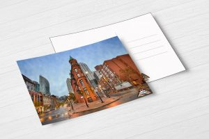 Gooderman Building Postcard by BritHikesOntario