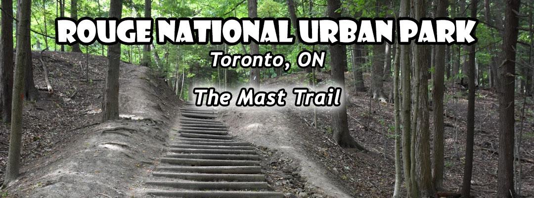 rouge national urban park mast trail header